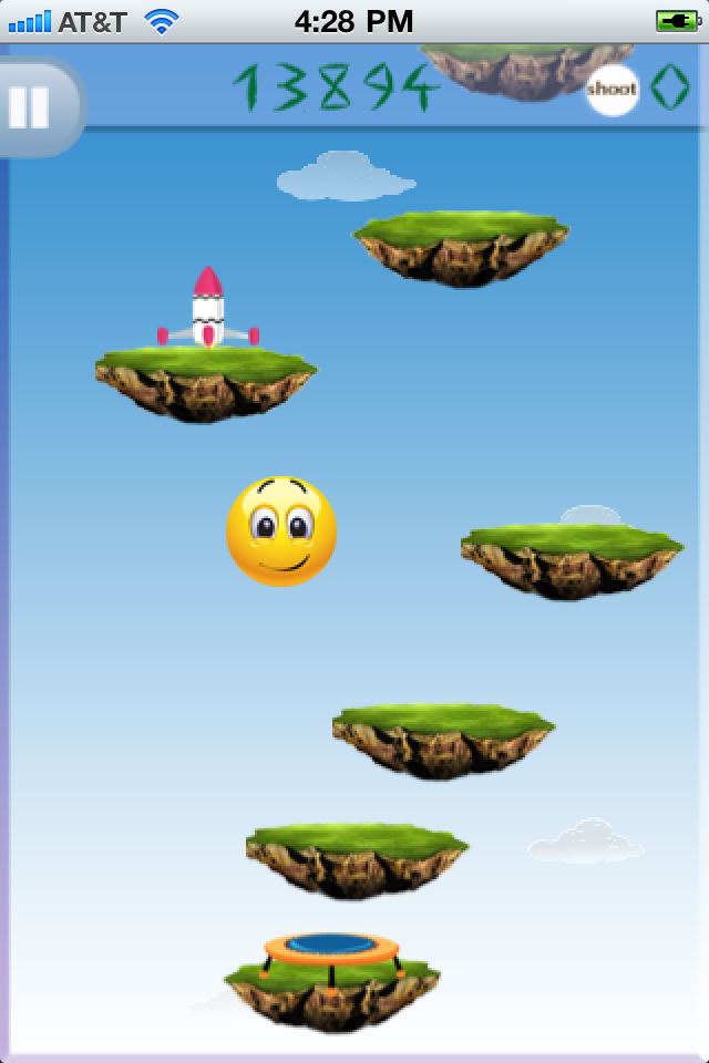 Screenshot Smiley Jump V1